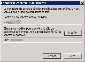 Modification Schema Owner Active Directory