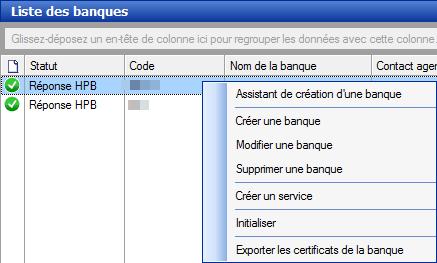 Export certificat banque Sage Direct